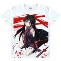 Akame ga убить футболки каваи японского аниме футболка манга милый мультфильм комиксов Esdeath косплей рубашки 40779575059 tee 230