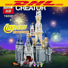 Lepin 16008 Creator Cinderella Princess Castle City 4080Pcs Model Building Minifigures Block Kid Toys Gift
