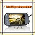 Atacado Auto Monitor de 7 TFT LCD Colorido de Carro Espelho Retrovisor Monitor de Alta Resolução de peças de Veículos do Sistema de Estacionamento Frete Grátis
