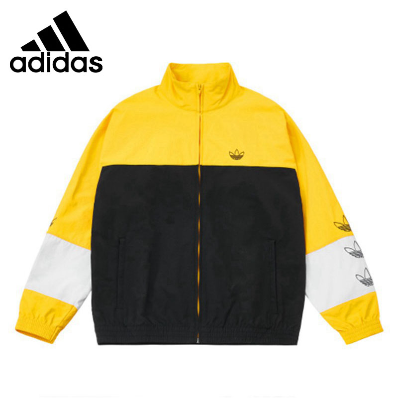 Original New Arrival  Adidas BLOCKED WARM UP Mens jacket  SportswearOriginal New Arrival  Adidas BLOCKED WARM UP Mens jacket  Sportswear