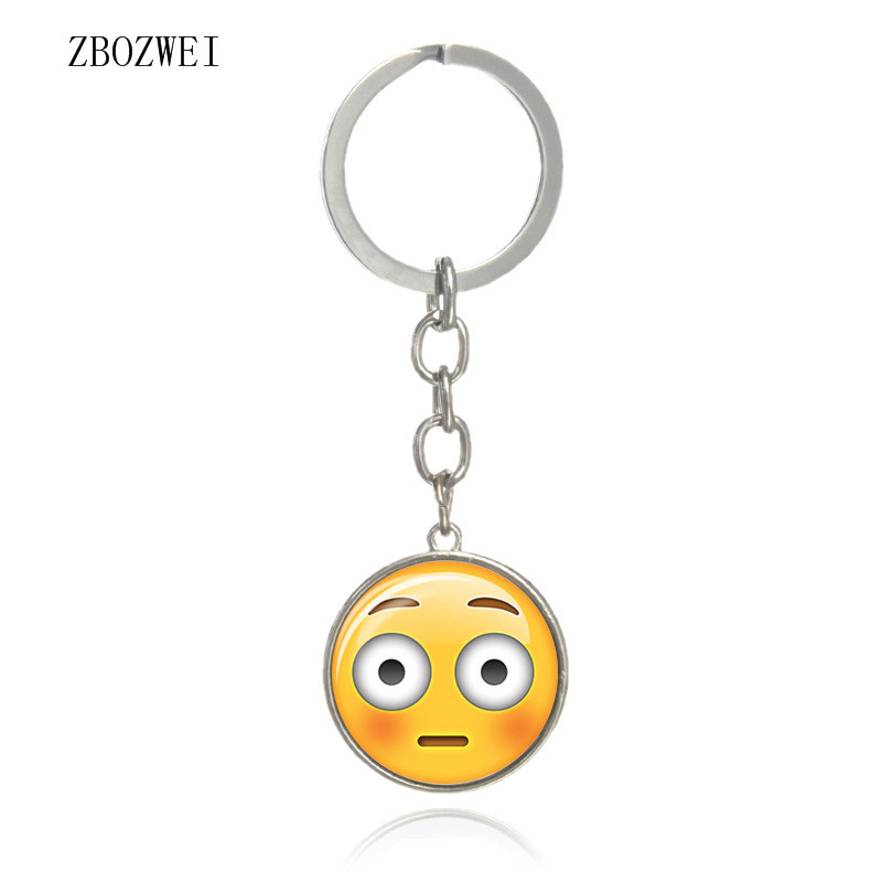 2018 hot face expression kit Guinness Keychain costume pendant accessories. European and American jewelry pendants
