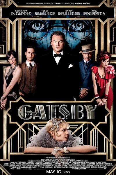 The Great Gatsby (2013) movie Silk Poster Picture Print Wall Decor24x36inch image