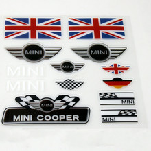 Etie Car-styling Mini Car Sticker and Decal Set Accessories for Mini Cooper