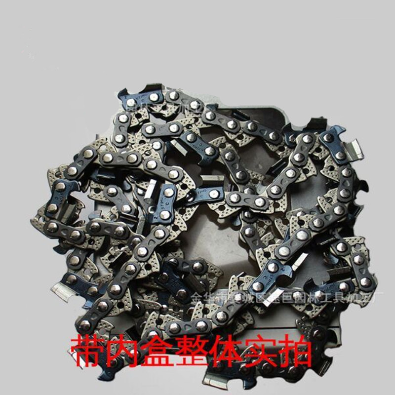 16 Bar Semi Chisel Chainsaw Chain 3/8 0.043 55 DL Woodworking Saw Chain For Garden Chainsaw Parts 16 bar chainsaw chain for semi chisel 3 8 0 043 55 dl for various stihl chainsaw