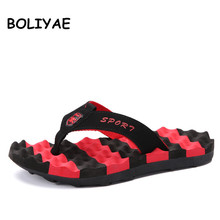 купить High Quality Summer Men Flip Flops Comfortable Beach Non-slip Sandals Shoes for Men Male Slippers Plus Size 45 Casual Shoes по цене 237.59 рублей