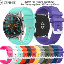 22mm Quick release bracelet For Huawel Watch GT frontier/classic band For Samsung Galaxy Watch 46mm/Gear S3 smart watch strap цена