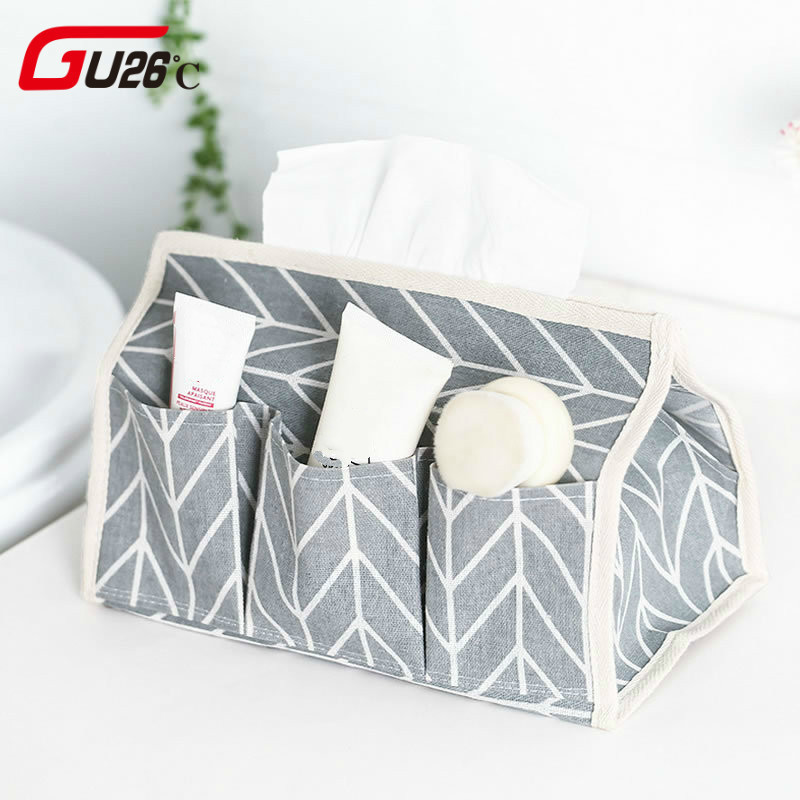 Interior Accessories Classical Car Seat Back Hanging Tissue Box With Strap Cotton Napkin Holder Cover Room Car Sofa Hotel Decorative Paper Container Online Shop