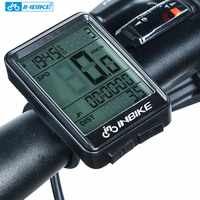 INBIKE 2.1inch Bike Wireless Computer Rainproof Multifunction Riding Bicycle Odometer Cycling Speedometer Stopwatch Backlight