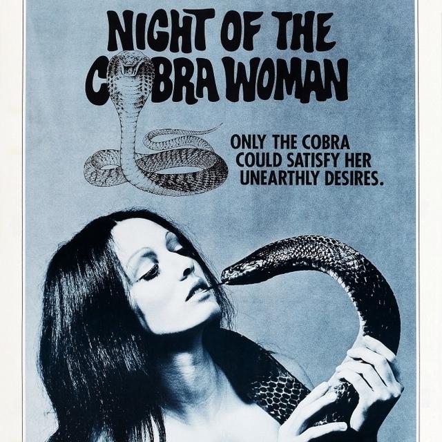 Night Of The Cobra Woman Us Poster Art 1972 Movie Poster Masterprint (24 x 36)