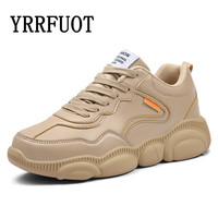 YRRFUOT Spring New Sneakers for Men High Quality Outdoor Non slip Men Sports Shoes Summer Cartoon Individuality Bear Shoes Man