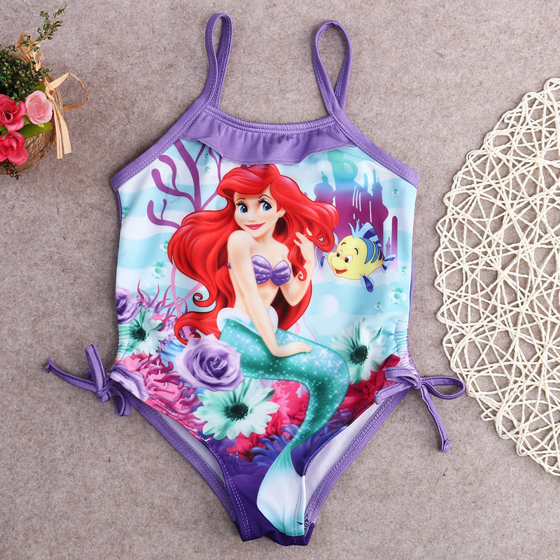 fb27b9c0e7 Detail Feedback Questions about Little Girls One piece Mermaid Harness  Swimsuit Baby Girl Cartoon Beachwear Bathing Suit Swimwear Swimmers Bikini  Costume on ...