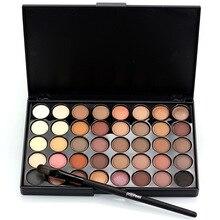 Popfeel 40 Colors Eye Makeup Matte Glitter EyeShadow Diamond Shimmer Primer Luminous Shadow Women Gift