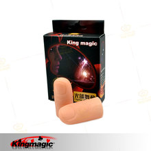 Лучший светильник большой палец King Magic Высокое качество светильник волна мульти лампочка на палец реквизит крупным планом сценические магические трюки Fuuny красивые пальчиковые игрушки