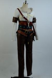 Image 3 - Ciri Cirilla Fiona Elen Full Set Uniform  Halloween Carnival Cosplay Costume