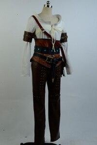 Image 3 - Ciri Cirilla Fiona Elen ensemble complet uniforme Halloween carnaval Cosplay Costume
