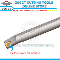 ZCCCT machine tools tool holder S40V SCLCR12 40mm diameter 400mm length internal tool cutter for CC inserts