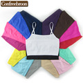 Environmental Dyeing Women's Solid Color wrapped chest High elastic Multicolor Anti Emptied Strap Blouse  (Pack of Three) S112