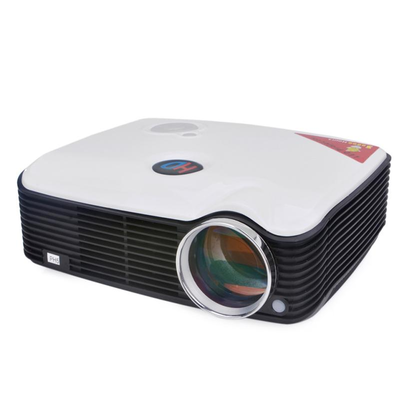 5.0 LCD*1 TFT LCD Panel LED Projector Multimedia 800*600 2500 Lumens LCD HDMI USB 4:3/16:9 Less Than 25 db For Home Theater
