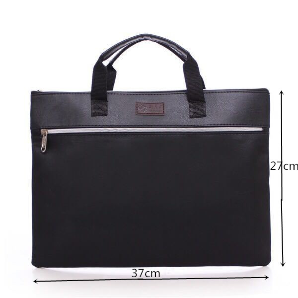 Купить с кэшбэком PU Leather New Briefcase Business Men's Envelope Package Solid High Quality Wristlet File Package Retro Briefcase