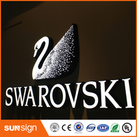 Outdoor Led Acrylic Letter Light Frontlit Sign