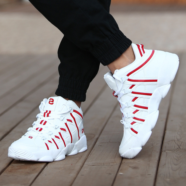New Men Casual Shoes Footwear Men Sports / Casual Shoes color: Black|Red|White