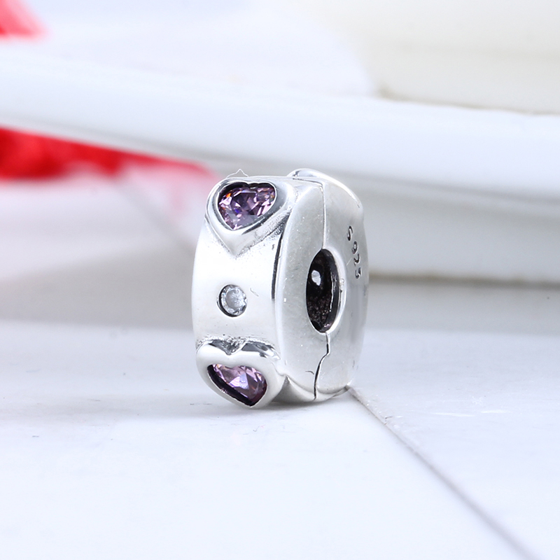 2018 Valentines Day Real 925 Sterling Silver Explosion of Love Fit Original Pandora Charms Beads Bracelet for Jewelry Making