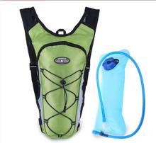 2016 Professional 4 Colors Nylon Cycling Backpack Rucksacks Knapsack +2L Water Bag Outdoor Sports Riding Bike Bicycle Pack Bag