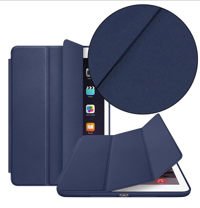 Case For Apple Ipad Air 1 (2013): A1474`A1475`A1476 ,Original 1:1 PU Leather Smart Cover Auto Sleep For Ipad Smart Case -YCJOYZW