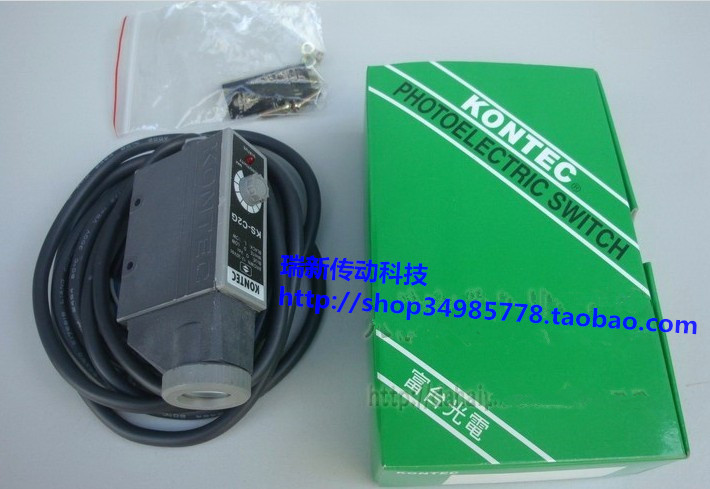KONTEC Colour sensor KS-C2RG/KS-C2w photoelectric switch Color code sensor Magic eye Bag making machine parts Induction switch leveling sensor tng 065b 02 photoelectric switch parts