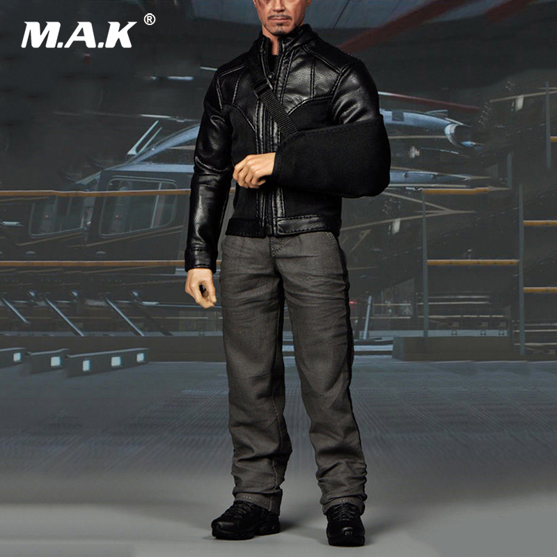 1/6 Scale Iron Clothes Set Man Tony Stark Clothes For 12 inches Male Action Figure Accessories mms277 1 6 scale iron man 3 mk 25 striker tony stark action figure limited stock