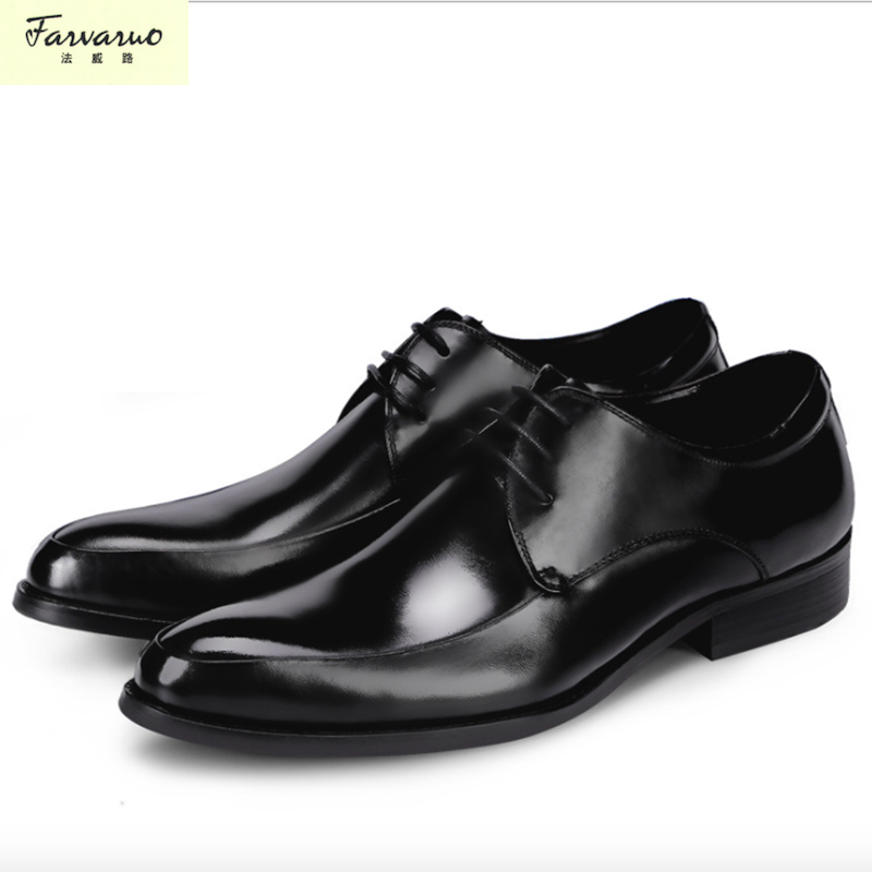 Masculino Leather Shoes Men Real Hot Sale Formal Mens Dress Genuine Black Wedding Italian Fashion Male 2018 2017 new fashion italian designer formal mens dress shoes embossed leather luxury wedding shoes men loafers office for male