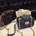 Autumn Winter Bag 2016 New Fashion Women Handbags Leather Shoulder Bag Retro Messenger Small Chain Crossbody Bag  F604