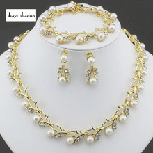 Classic Imitation Pearl necklace jewelry set