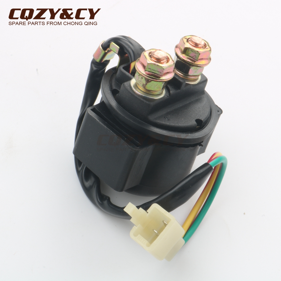 STARTER MOTOR AND RELAY SOLENOID JONWAY 50 50CC SCOOTER 4 STROKE ATV QUAD NEW