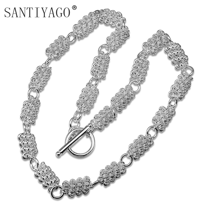 Fashion Women 2018 Female Collar Multi Layer Chain Vintage Short Twist Chorker Necklaces Jewelry Accessories Chain Necklace