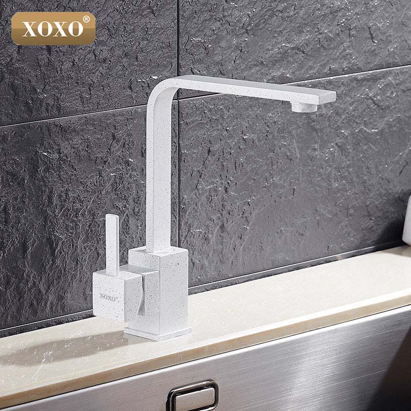 XOXO Kitchen Faucet Cold And Hot Water Tap Single Handle Kitchen Faucets Black Kitchen Water Sink Mixer Tap Faucets 83030