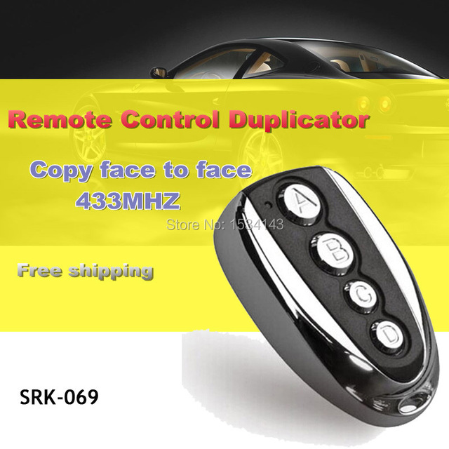 fob pin key buttons door electric cloning control universal garage remote