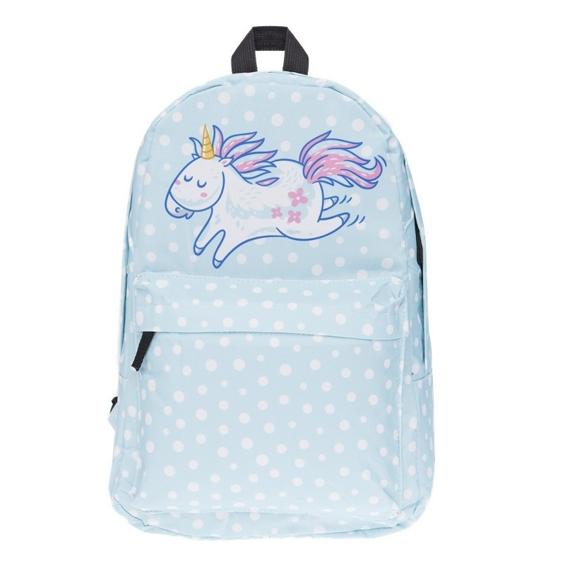 New Fashion Unicorn Women Backpacks Cartoon Kawaii School Bag Hologram Women GirlsTravel Bag For Childre Borse Da Donna A Scuola