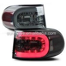 FJ Cruiser LED Tail Lights Smoke Black Color 2007 -13 SN Style