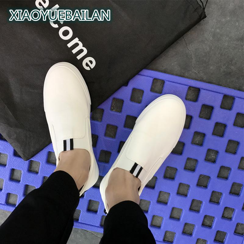 A Set Of Summer Mens Casual Shoes Men Lazy LoaferShoes