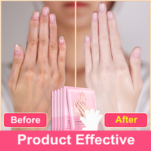 1pair=2pcs Snail Serum Extract Moisturizing Hand Mask Super Smoothing Whitening
