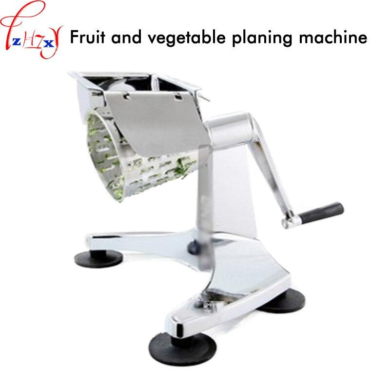 Fruit and vegetable planing machine hand shake multifunction table fruit and vegetable slicer salad machine 1pc