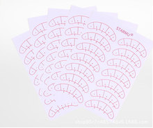 14 Pairs/Pack Paper Patches 3D Eyelash Under Eye Pads