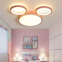 Pink/blue led Chandelier Lighting For Childrens room Bedroom lustre para sala Modern Led Ceiling Lamp