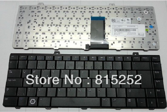 New and original!!! Black English US Laptop Keyboard For DELL 1320 1440 1445 V100825CS1