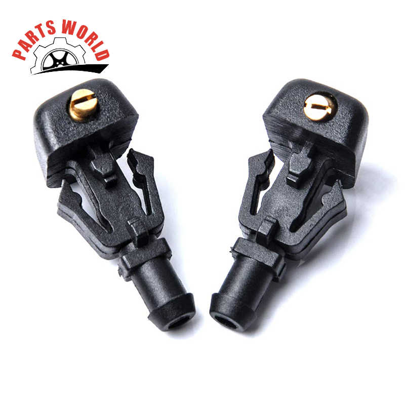 Front Windshield Washer Nozzles - for 04-13 Ford F150 - Replaces OEM #: 3W7Z17603AA, Spray Jet Kit (pack of 2)