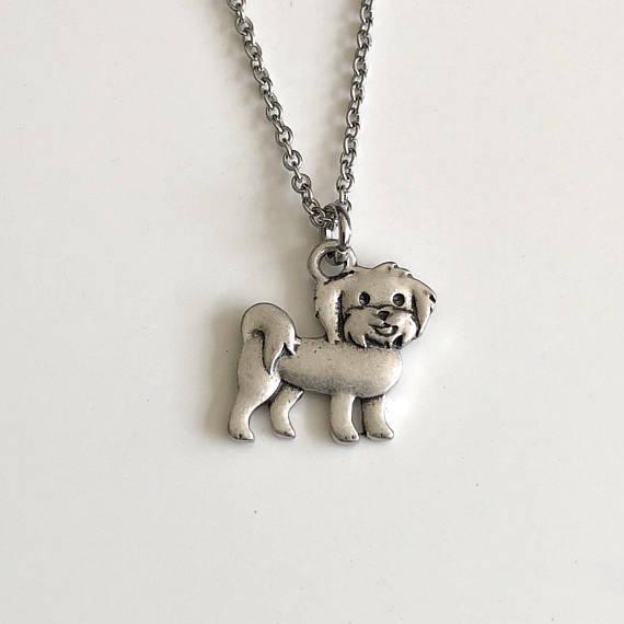 Dog Pendant necklace 2