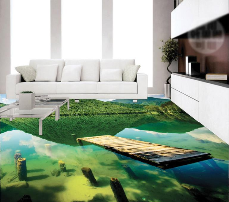 3d flooring picture in picture wallpaper Bathroom kitchen living room pvc self adhesive wallpaper 3d floor free shipping marble lotus carp bathroom walkway kitchen 3d floor stickers self adhesive bedroom living room flooring mural