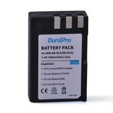 DuraPro 1800 мАч EN-EL9 EN EL9 EN-EL9a аккумуляторная батарея для камеры Nikon D40 D60 D40X D5000 D3000 E1007N