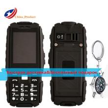 """DTNO. I A9 4800 mAh IP67 Wodoodporna, odporna na wstrząsy 2.4 """"telefon Rosyjski klawiatura Dual Karty SIM FM telefonów flashligh z Kompas breloczek"""
